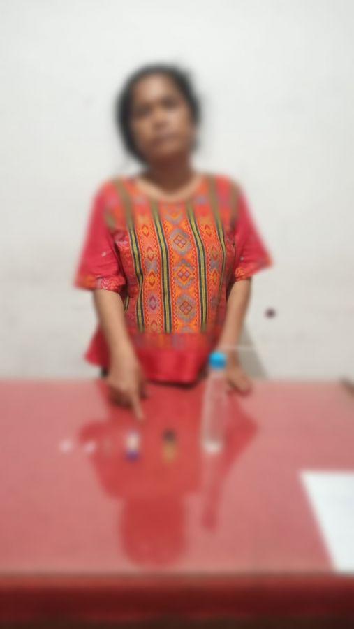 Seorang Wanita Diamankan Diduga Pengedar Narkotika