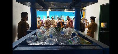 Didukung PT CPI, Bupati Siak Resmikan Bank Sampah Berkelana di Minas