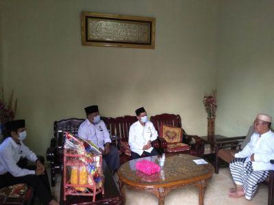 DPD LDII Berkunjung Ke Kediaman Ketua MUI Siak