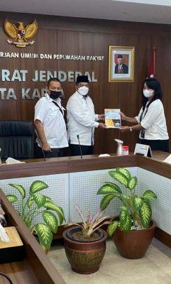 Bupati Alfedri Jumpai Dirjen Cipta Karya Kementrian PUPR, Ajukan Proposal Pembangunan Siak