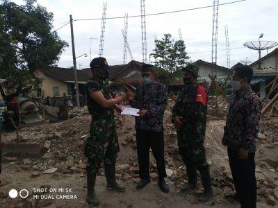 LDII Tonjong Bantu Pembangunan Mushola Koramil