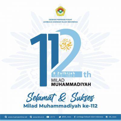 LDII Ucapkan Tahniah Milad Muhammadiyah ke-112