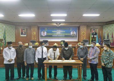 Tingkatkan kualitas SDM, Siak dan UIN Suska Riau lakukan MoU.