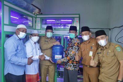 Wabup Husni resmikan Depot Air Minum pesantren Modren Fataha
